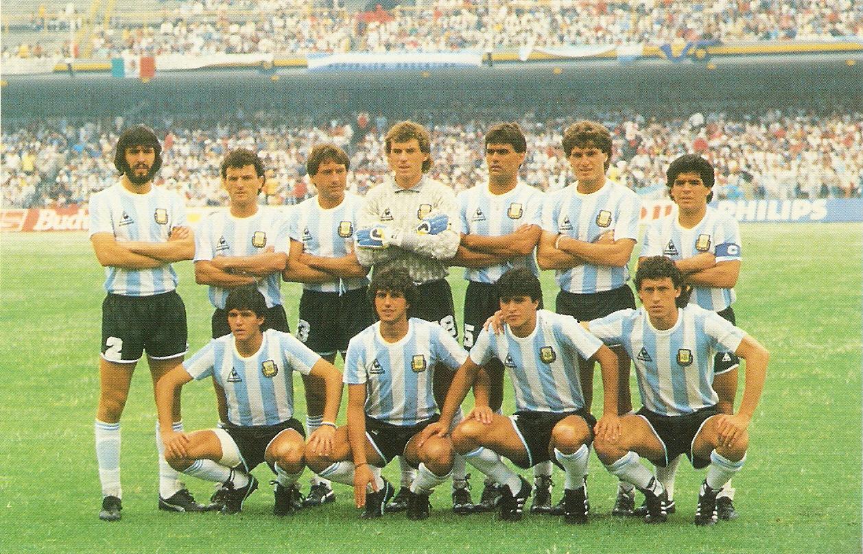 Brazil - 1962 Argentina - 1986 (with Maradona)